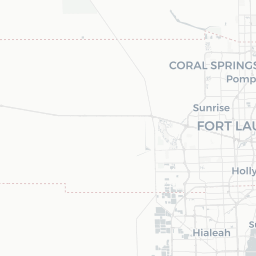 Dania Beach Florida Map.Updated Map Red Light Cameras In South Florida Sun Sentinel