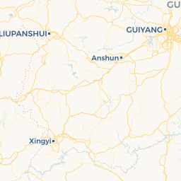 China Express Airlines G HXA Xingyi ACX To Guiyang - Xingyi map